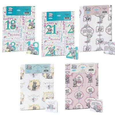Me to You Tatty Teddy Wrapping Paper Gift Wrap 21st 18th Birthday Christening