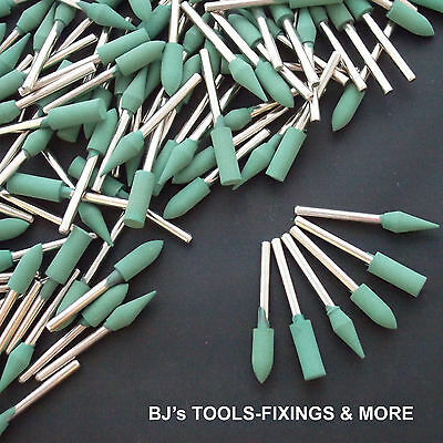 18 Piece Rubber Polishing Tips - Rotary Hobby Tool Dremel Accessories
