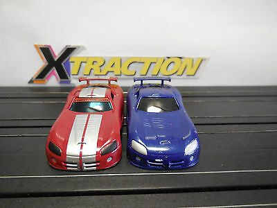 AUTO WORLD ~ DODGE VIPER COUPE BODIES ~ ADD YOUR OWN CHASSIS ~ FITS AFX, AW, JL