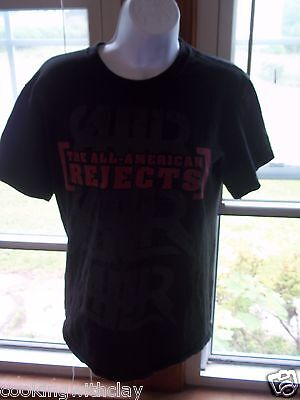 All American Rejects 2009 Battle Of The Bands Tour Concert Shirt Sz Adult Small