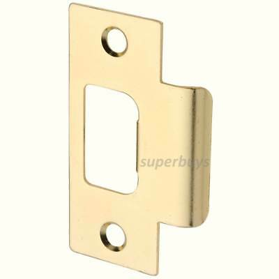 Brass Metal Door Lock Latch Striker Strike Striking Plate Pad Bolt Jamb T Set