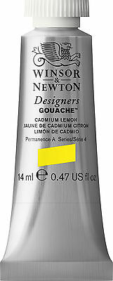 Winsor & Newton Designers Gouache14ml Tubes Yellow/Orange Buy 5 add 6th for free