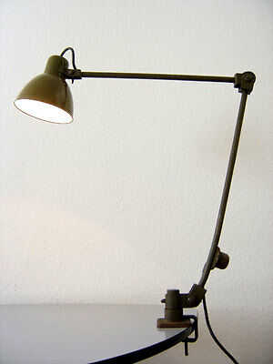 Modernist BAUHAUS Art Deco WORKSHOP LAMP Atelier Light KAISER IDELL Kandem ERA