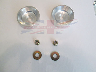 New Triumph TR6  TR4A IRS Differential Alloy Stabilizer Reinforcement Cups