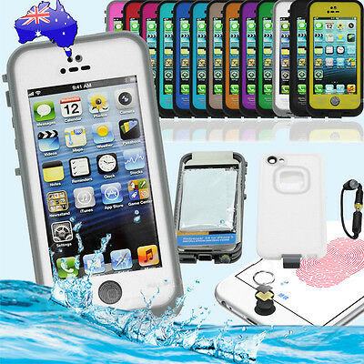 Waterproof Shockproof SnowProof Touch ID Case for Apple iPhone 5 5S SE
