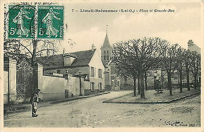 94* LIMEIL BREVAnnES   place - grande rue