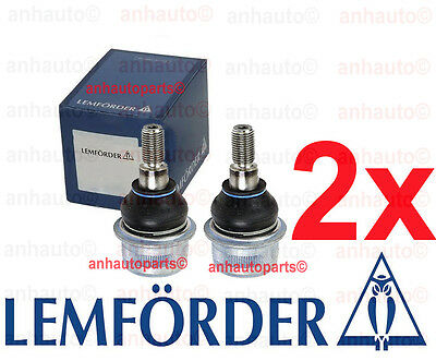 Set of 2 OEM Lemforder Front Lower Ball Joint Mercedes (at Steering Knuckle)