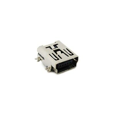 5PCS Mini USB SMD 5 Pin Female Mini B Socket Connector