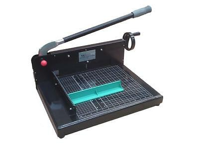 """New Guillotine SG®-198 12"""" COMMERCIAL Stack Paper Cutter Trimmer + Cutting Stick"""