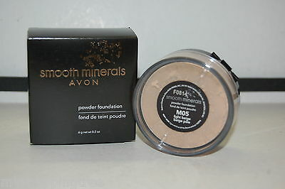 Avon Smooth Minerals LOOSE Powder Foundation YOU PICK YOUR COLOR, New in Box