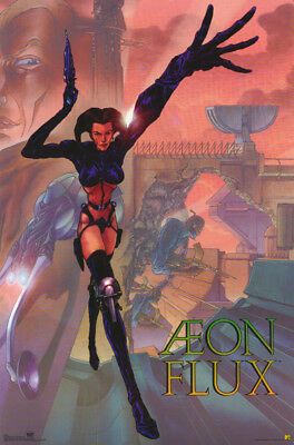 Poster: Mtv/tv :cartoon : Aeon Flux  - Free Ship - #3046  Rp72 O