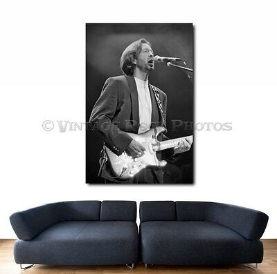 Eric Clapton 20x30 inch Fine Art Gallery Canvas Print Photo Framed Gilcee  8