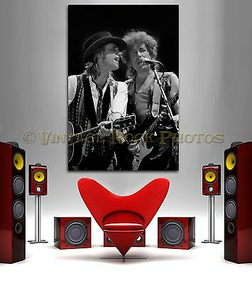 Bob Dylan Tom Petty 20x30 inch Art Gallery Canvas Print  Framed Gilcee Photo 10
