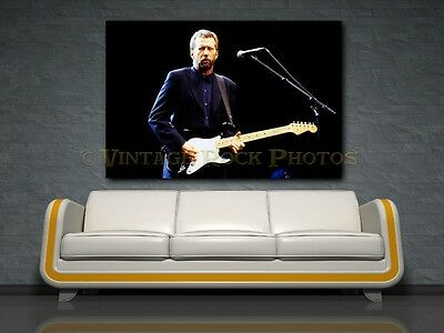 Eric Clapton 20x30 inch Fine Art Gallery Canvas Print Photo Framed Gilcee  68