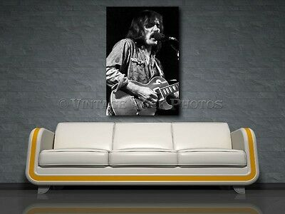 Dickey Betts Allman Brothers 20x30 inch Fine Art Gallery Canvas Framed Gilcee 12