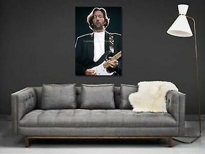 Eric Clapton 20x30 in Fine Art Gallery Canvas Print Photo Framed Gilcee 47