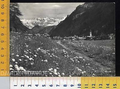 38693] Aosta - Gressoney St Jean - Panorama _ 1965