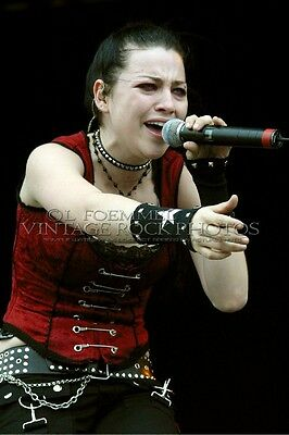 Amy Lee, Evanescence Photo 8x12 or 8x10 inch Live Concert Pro Studio Print L21