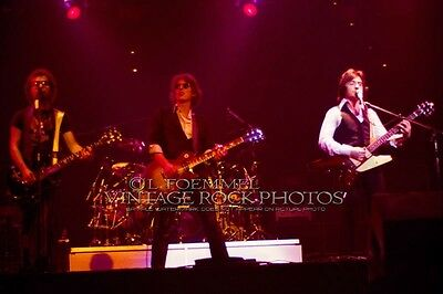 """BLUE OYSTER CULT Bloom, Dharma, Lanier Photo 8x12 or 8x10"""" Live 80s Concert  L15"""