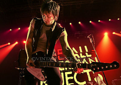 Nick Wheeler, All-American Rejects Photo 8x12 or 8x10 inch '12 Liverpool, UK s08