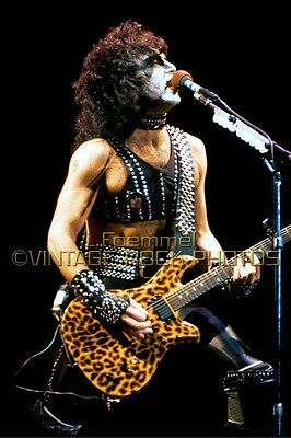 Paul Stanley KISS Photo 8x12 or 8x10 inch '83 Creatures Toronto Concert  L6