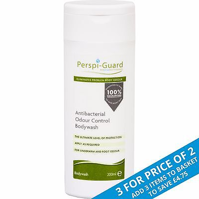 Perspi-Guard® Antibacterial Odour Control Body Wash 200ml