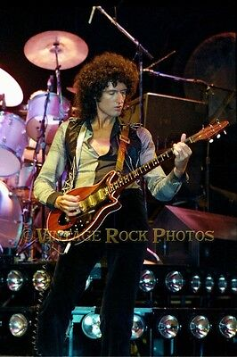 Brian May Queen Photo 8x12 or 8x10 inch Live '70s Concert Print from Negative 47