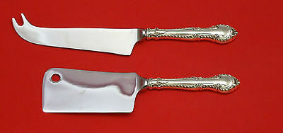 English Gadroon By Gorham Sterling Silver Cheese Srvr Serving Set 2P Hhws Custom