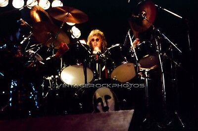 Roger Taylor, Queen Photo 8x12 or 8x10 inch '70s Live Concert from Negative 43b