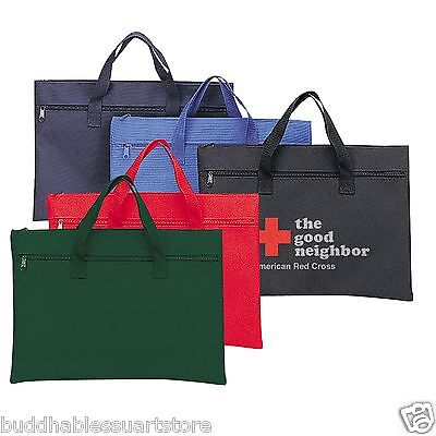 100 Wholesale Conference Carry On Pouch Tote Totes Bag Bags Blank Documents