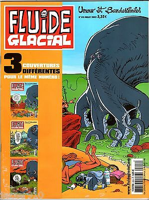 FLUIDE GLACIAL n°313 A ° VARIANT COVER ° 2002