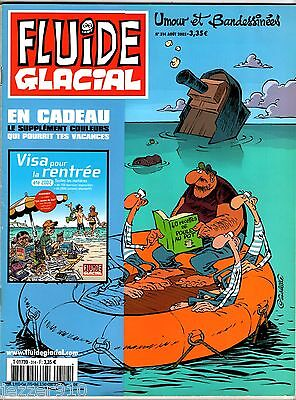 FLUIDE GLACIAL n°314 ° SUPPLEMENT VISA POUR LA RENTREE INCLUS ° 2002