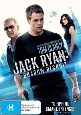 Jack Ryan Shadow Recruit DVD 2014