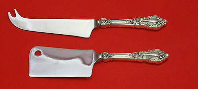 Eloquence By Lunt Sterling Silver Cheese Server Serving Set 2Pc Hhws Custom Made
