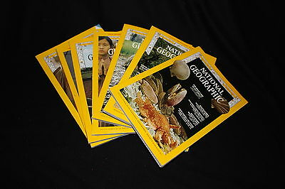 Vintage National Geographic Magazine 1960s Choose Your Issue