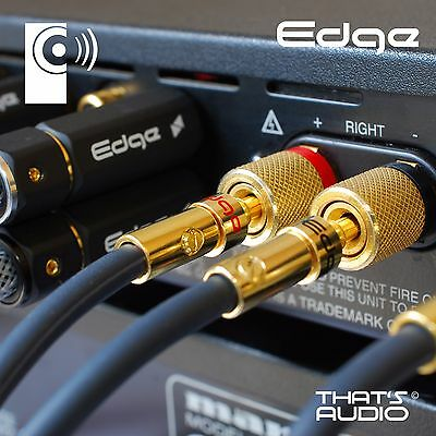 2 x Hi-Fi Banana PlugS (4mm Gold Plated Plug for Speaker Amplifier cable) BP1