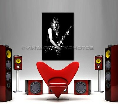 Randy Rhoads 24x36 inch Canvas Framed Fine Art Gallery Museum Print 1