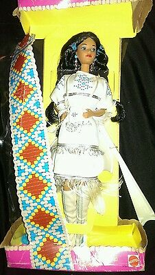 Native American 1992 Barbie Doll  Special Edition Dolls of the World