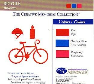 Creative Memories Bicycle Die Cut Bn Nla