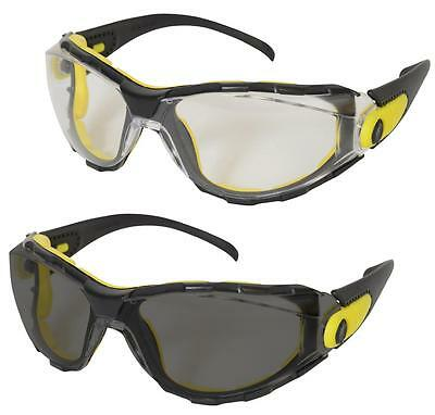 UCI SULU-F+ - Safety Spectacles Glasses With Soft Foam Seal - Various Lens