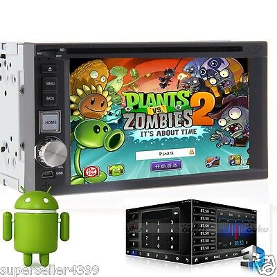 Super Android 4.2 GPS Navi Car DVD Player Double 2Din Indash Car Stereo Radio