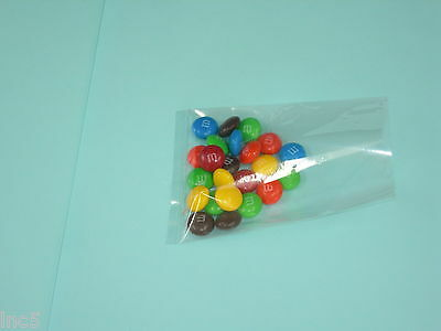 """200  -  3""""x4"""" CRYSTAL CLEAR FLAT CELLO BAGS"""