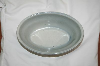 Beautiful Antique Large Manley Pottery Centerpiece Oval Heavy Bowl