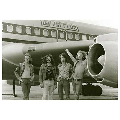 """LED ZEPPELIN Airplane Photo Tapestry Cloth Poster Flag Wall Banner New 30"""" x 40"""""""