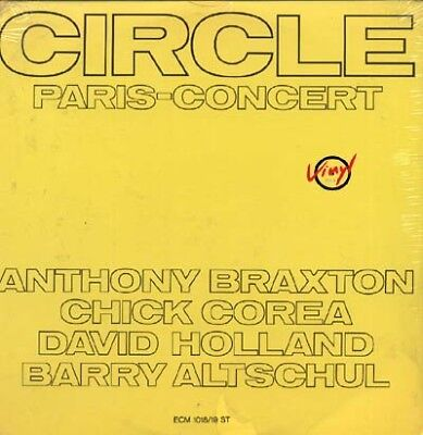 2LP Braxton / Corea / Holland / Altschool - Circle Paris-Concert  US ECM SEALED