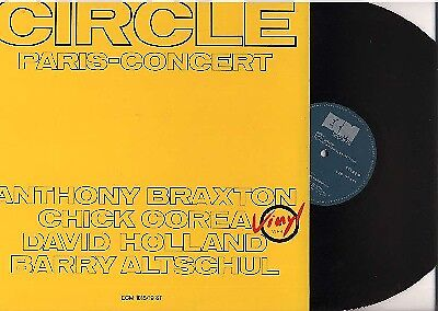 2LP Braxton / Corea / Holland / Altschool - Circle Paris-Concert ECM 1018/19 NM