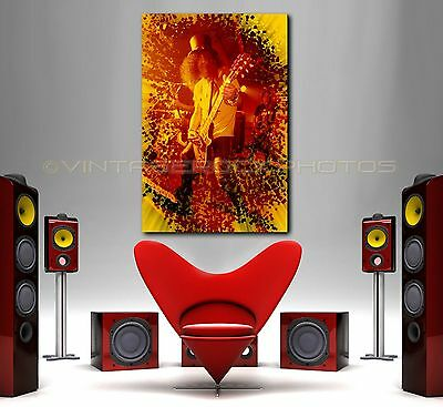 Slash GUNS N ROSES 24x36 inch Poster Size Photo Ltd Edition Custom Art Design 30
