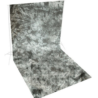 10 x 20 ft.Grey Photography Muslin Backdrop Photo Studio Hand Painted Background