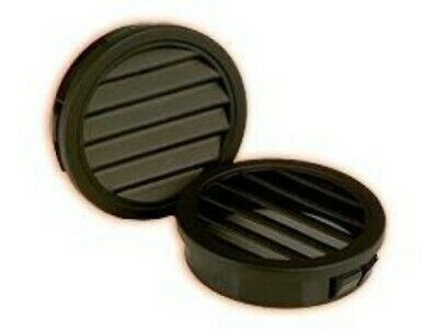 """10) Enclosure Vents Heyco 2567 Louvered Plugs Head size of 1 1/2 for 1 1/4"""" hole"""