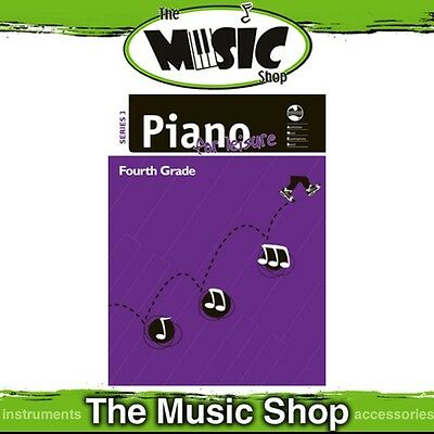 New AMEB Piano for Leisure: Series 3 Grade 4 Music Tuition Book